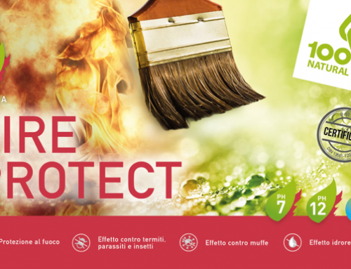 FIRE PROTECT: l'impregnante innovativo!